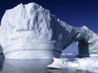 обои Айсберг в виде арки фото