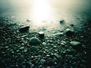 обои Камни на свету фото