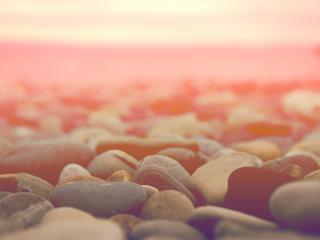 обои Камушки в утренней дымке фото