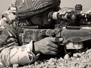 обои Израильский снайпер фото