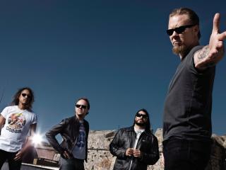 обои Компания рок музыкантов фото