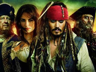 обои Актеры фильма пираты карибского моря фото