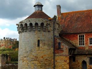 обои Scotney замок в англии фото
