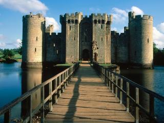 обои Замок Bodiam фото