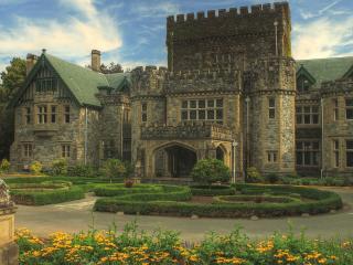 обои Замок из камня фото