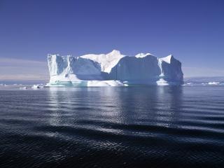 обои Округлая форма айсберга фото