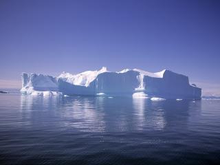 обои Плавучий айсберг фото