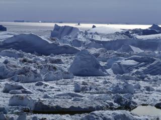 обои Пейзаж в Арктике фото