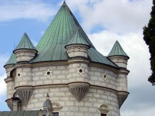 обои Большая башня замка фото