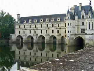 обои Вид замка Шенонсо фото
