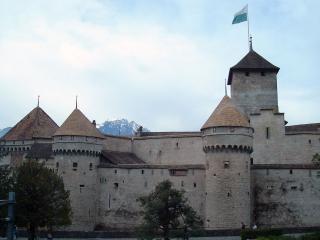 обои Старинный Шильонский замок фото