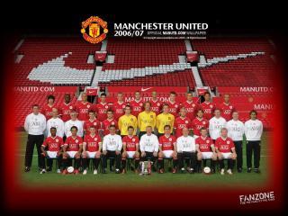 обои Состав Манчестер Юнайтед фото