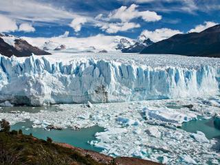 обои Процесс таяния арктических льдов фото