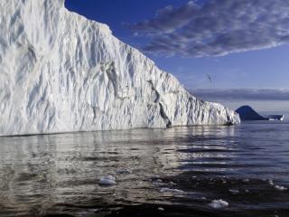 обои Рельефность айсберга фото