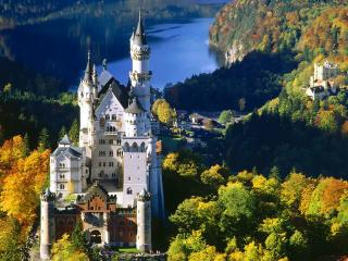 обои Замок в баварии фото