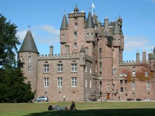 обои Замок Глэмис в Шотландии фото