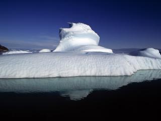 обои Снежный айсберг фото