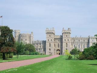 обои Виндзорский замок тысячилетняя крепость фото