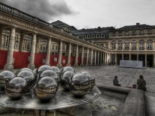 обои Дворец Пале-Рояль в Париже фото