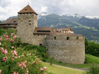 обои Замок Вадуц в Лихтенштейне фото