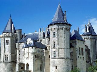 обои Замок Шато де Сомюр Франция фото