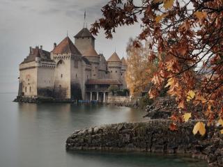 обои Замок Шильонский фото