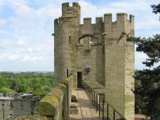 обои Исторический замок Уорик фото