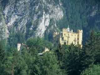 обои Палац в горах фото