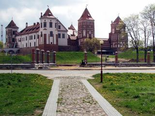 обои Дорожка ведущая к замку фото