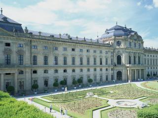 обои Огромная территория замка фото