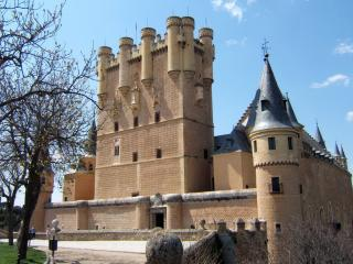 обои Сеговия замок в Испании фото
