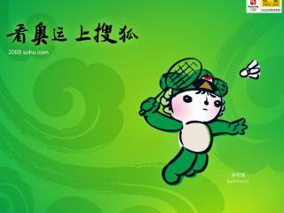 обои Пекин 2008. Бадминтон фото