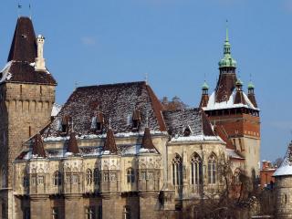 обои Архитектурная красота замка фото