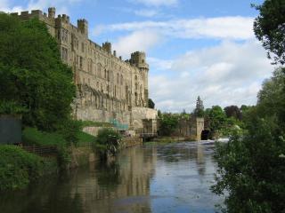 обои Замок у воды фото