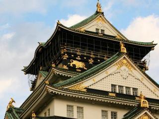 обои Крыша восточного замка фото
