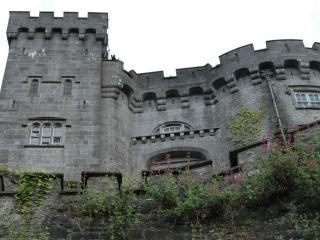 обои Рельефное эданние замка фото