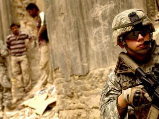 обои Солдаты сша в ираке фото
