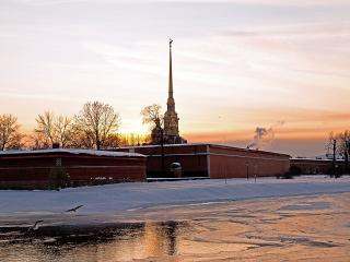 обои Петропавловская крепость фото