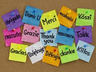 обои Спасибо на разных языках фото
