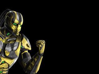 обои Mortal kombat,   боец сайракс фото