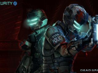 обои Dead space 2,   служба безопасности фото