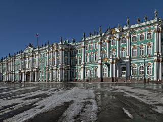 обои У Эрмитажа. Санкт-Петербург фото