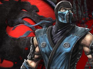 обои Mortal kombat,   саб зиро фото