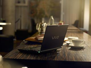 обои для рабочего стола: Sony vaio ноутбук
