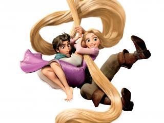обои Спасение на длинных волосах фото