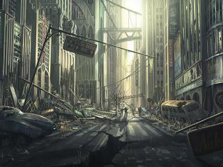 обои Мертвый город фото