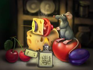 обои Рисуной из мультфильма Рататуй фото