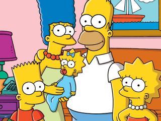 обои Семья симпсонов фото