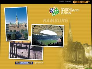 обои Чемпионат мира по футбоул в Германии. Гамбург фото