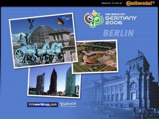 обои Чемпионат мира по футбоул в Германии. Берлин фото